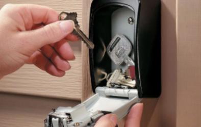 key safe installation