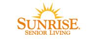 sunrise senior loving logo