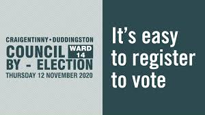 Craigentinny/Duddingston By-Election – 12th November 2020