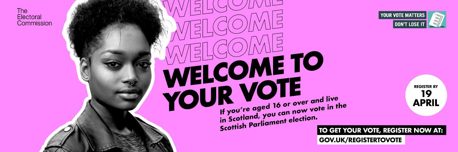 Welcome to Your Vote - 16+