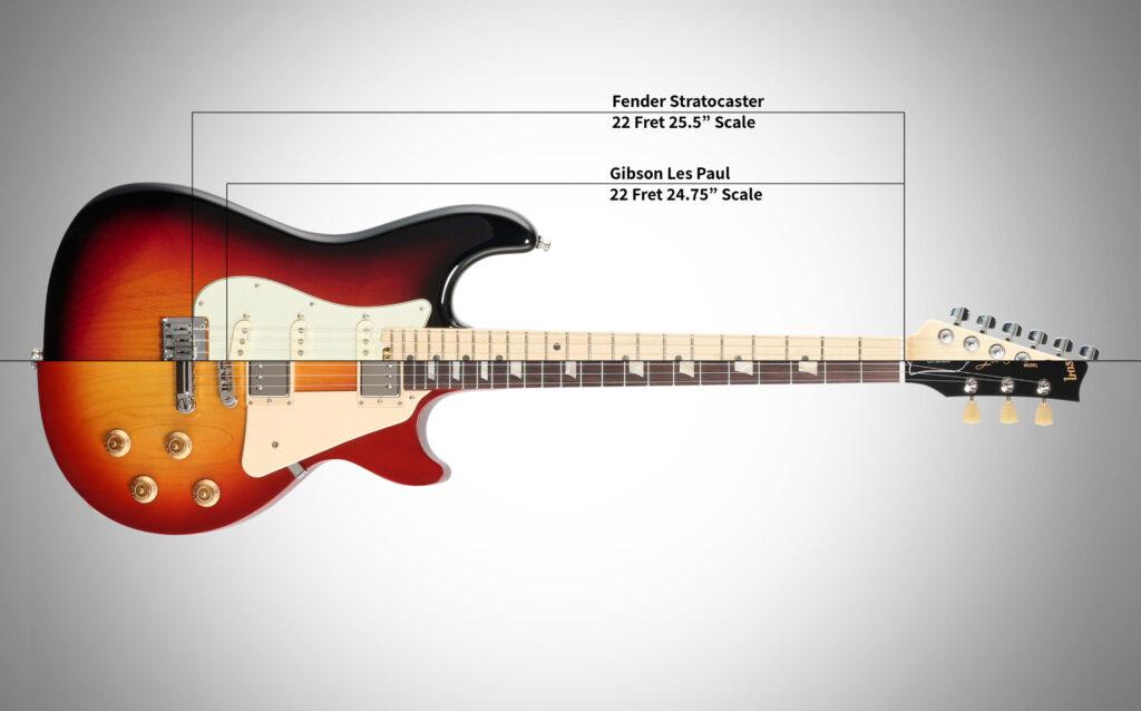 Gibson vs. Fender Scale Length