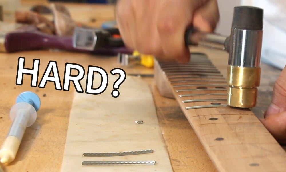 How Hard Is It to Build an Electric Guitar