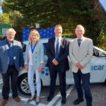 Innovative wireless electric vehicle charging comes to Bucks