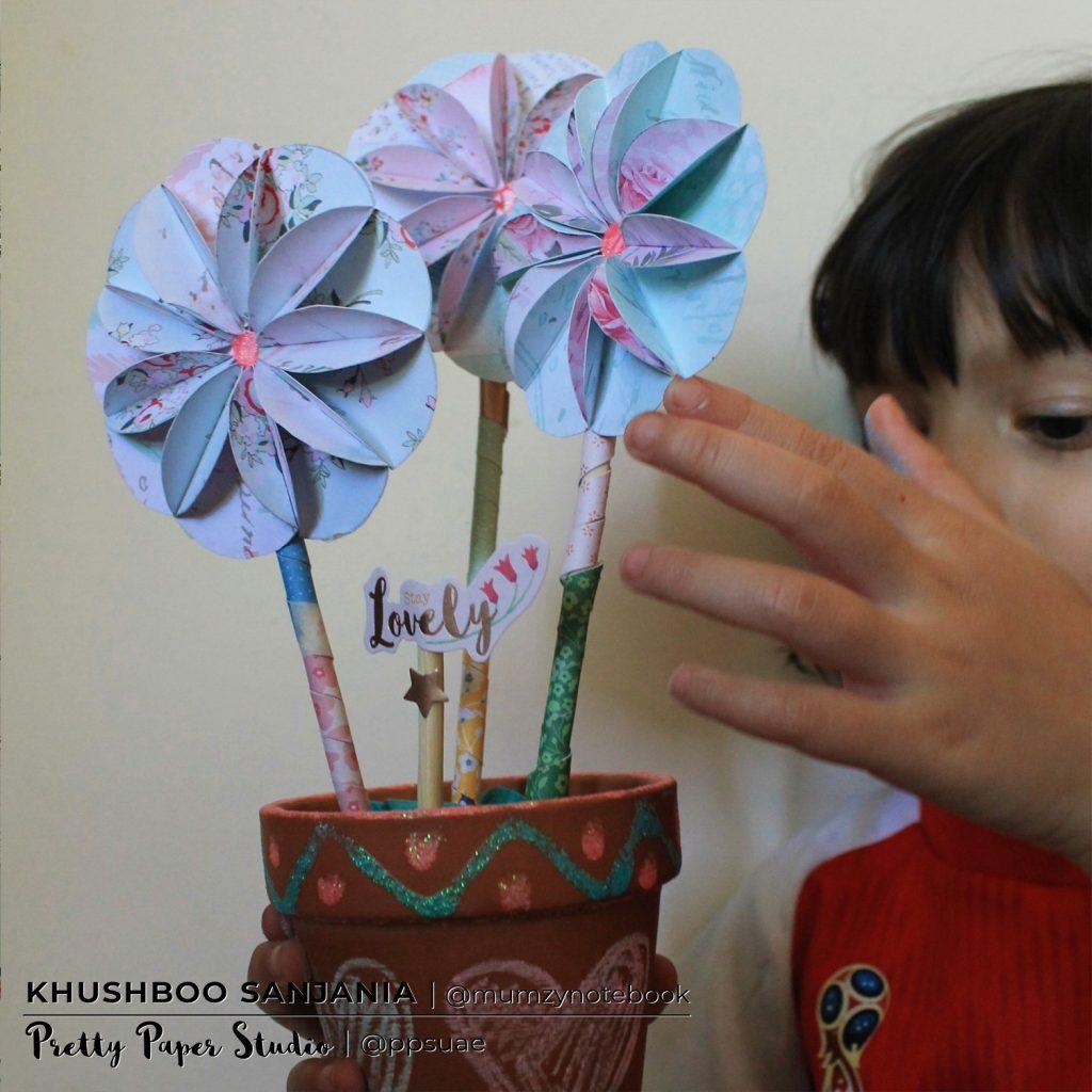 Pper Flowering Pot