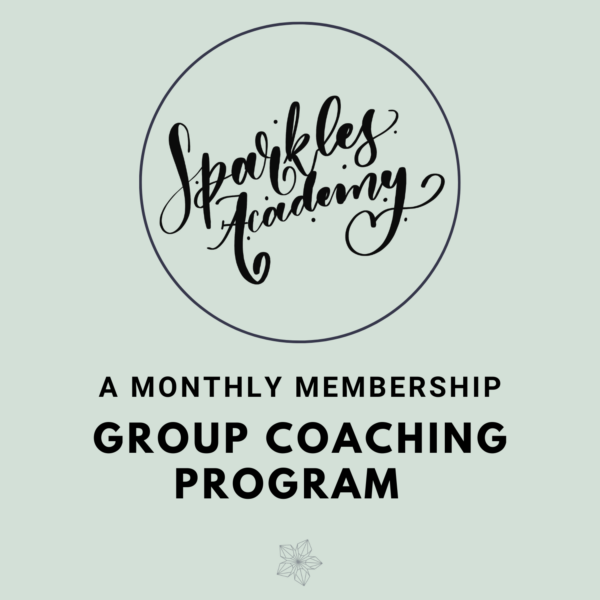 Sparkles Academy – One Month Membership
