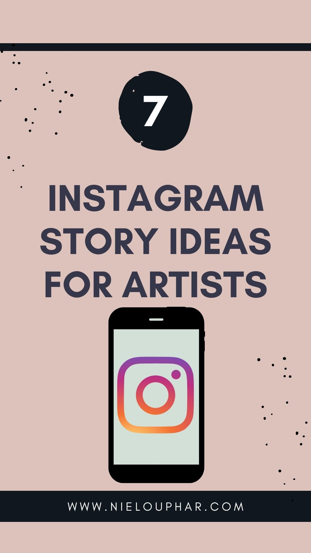 instagram story ideas for artists