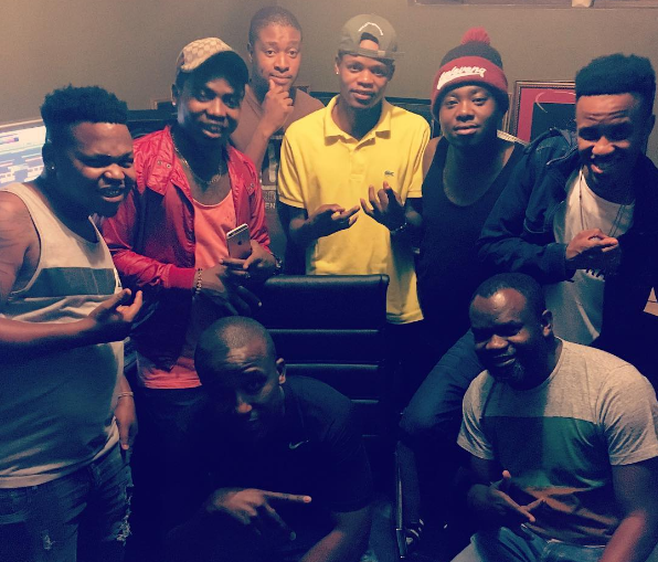 Photo of DJ Ganyani Working On A New Record With DBN Nyts