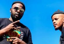 "Photo of DJ Maphorisa & Kabza Come Through To Support Oskido @ His Resturant ""Daruma"""