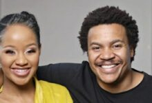Photo of Brenden Praise And Wife Mpoomy Ledwaba Welcome New Addition To Family