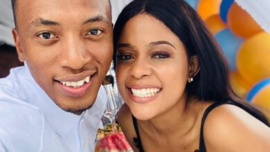 Photo of Watch! Dumi Mkokstad Serves Couple Goals With His Wife Ziphozenkosi
