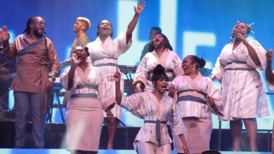 Photo of MTN Joyous Celebration Sings for the Women of South Africa