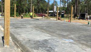Concrete Paving Project in Savannah Georgia