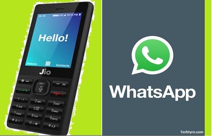 Whatsapp in Jio Phone