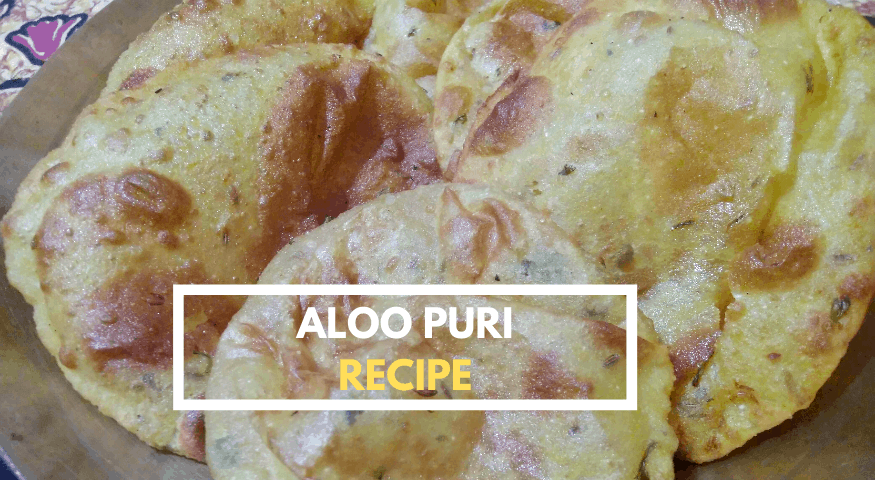 Crispy Aloo Poori Recipe | Quick & Easy To Cook