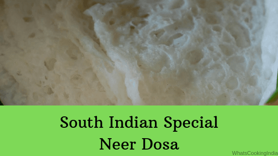 Neer Dosa Recipe | South Indian Neer Dosa