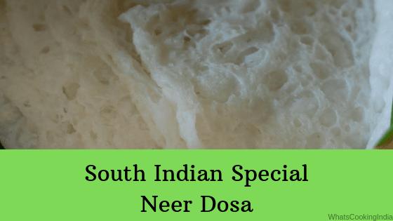 Neer Dosa Recipe   South Indian Neer Dosa