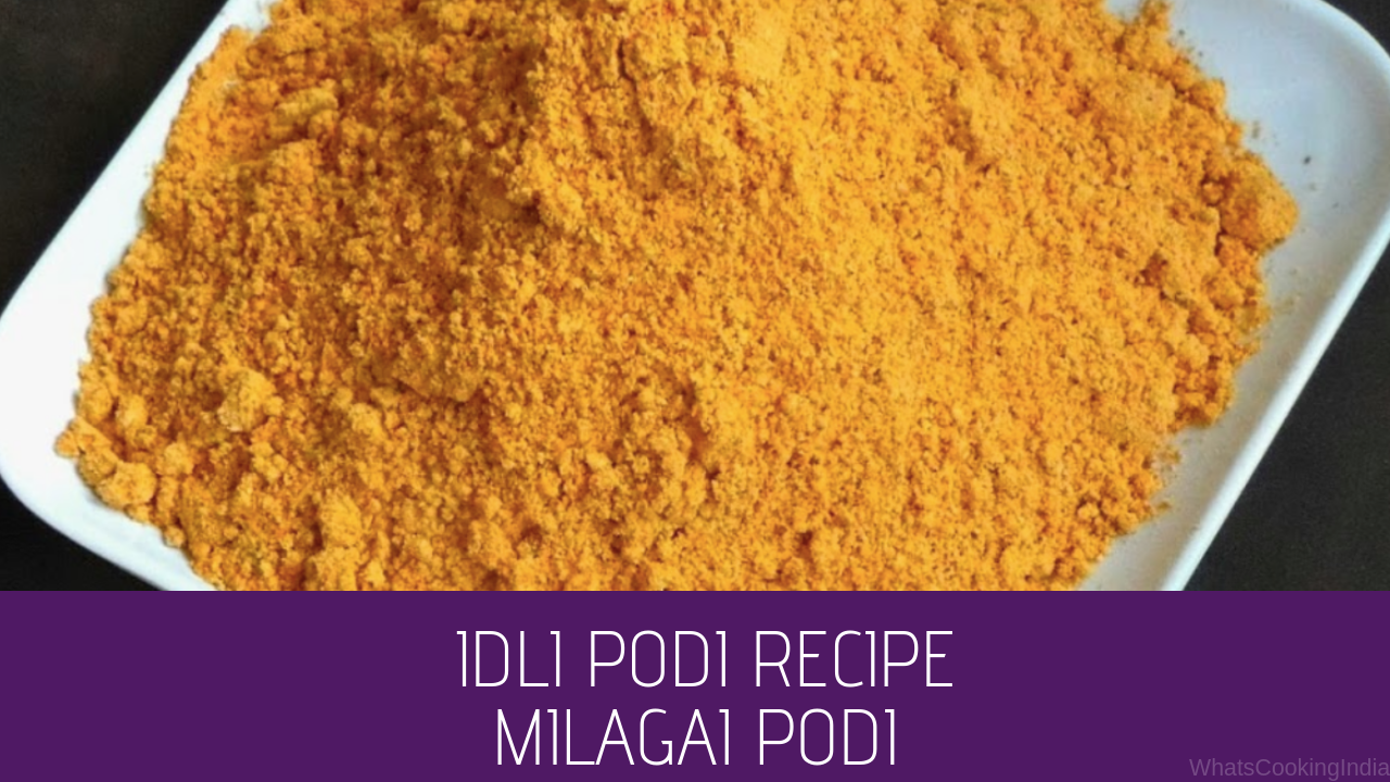 Idli Podi Recipe | South Indian Recipes