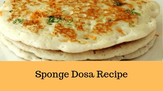 Set Dosa Recipe   Sponge Dosa