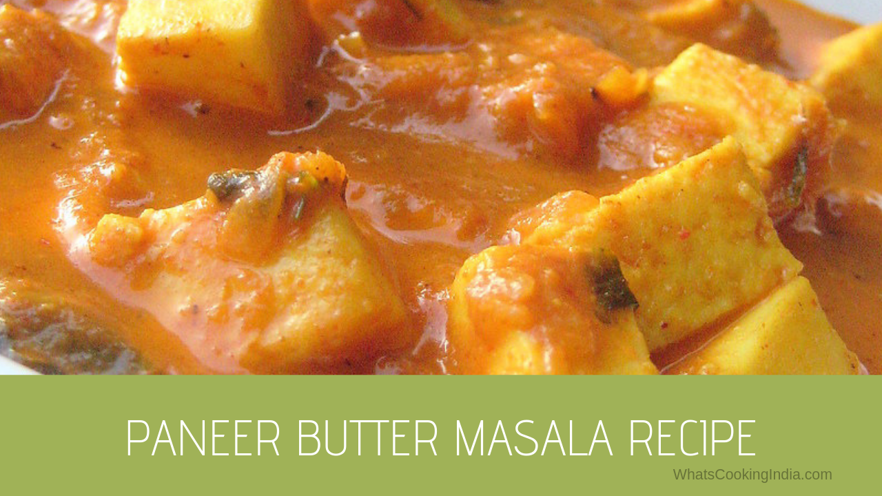 Butter Paneer Recipe | Restaurant Style Paneer Butter Masala