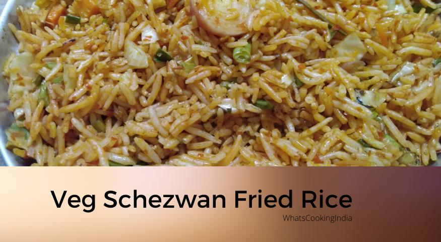 Veg Schezwan Fried Rice | Chinese Fried Rice | Chinese Veg Fried Rice