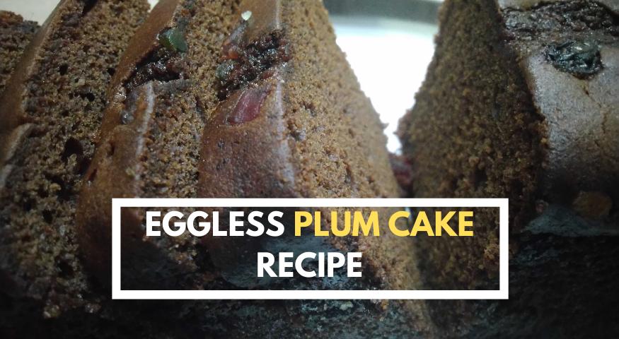 Simple Plum Cake Recipe | Christmas Fruit Cake