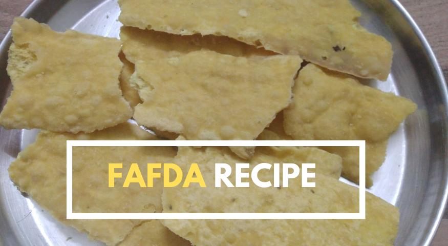 Gujarati Fafda Recipe | Fafda Banane Ki Recipe | Fafda Recipe