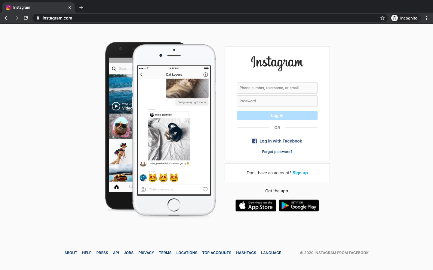 How To Upload Picture On Instagram From PC Step 2