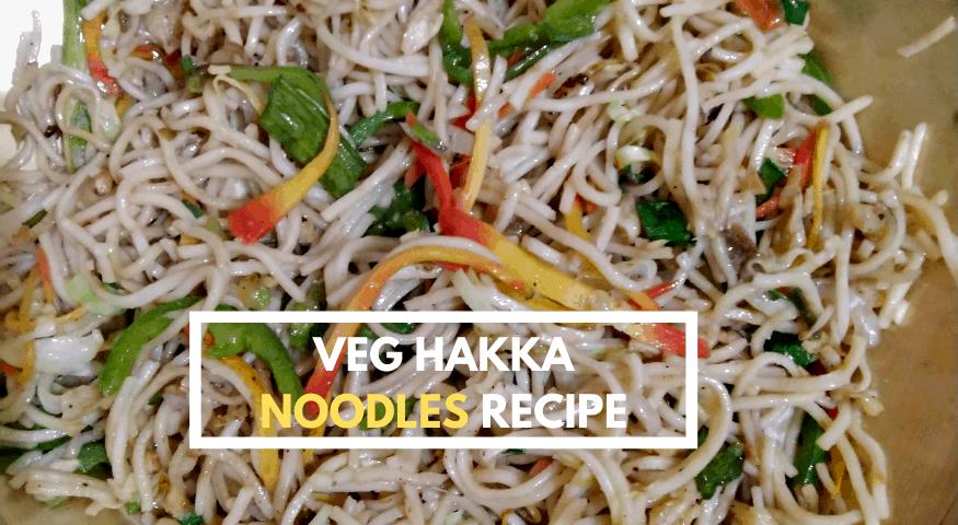 Mixed Hakka Noodles | Veg Hakka Noodles