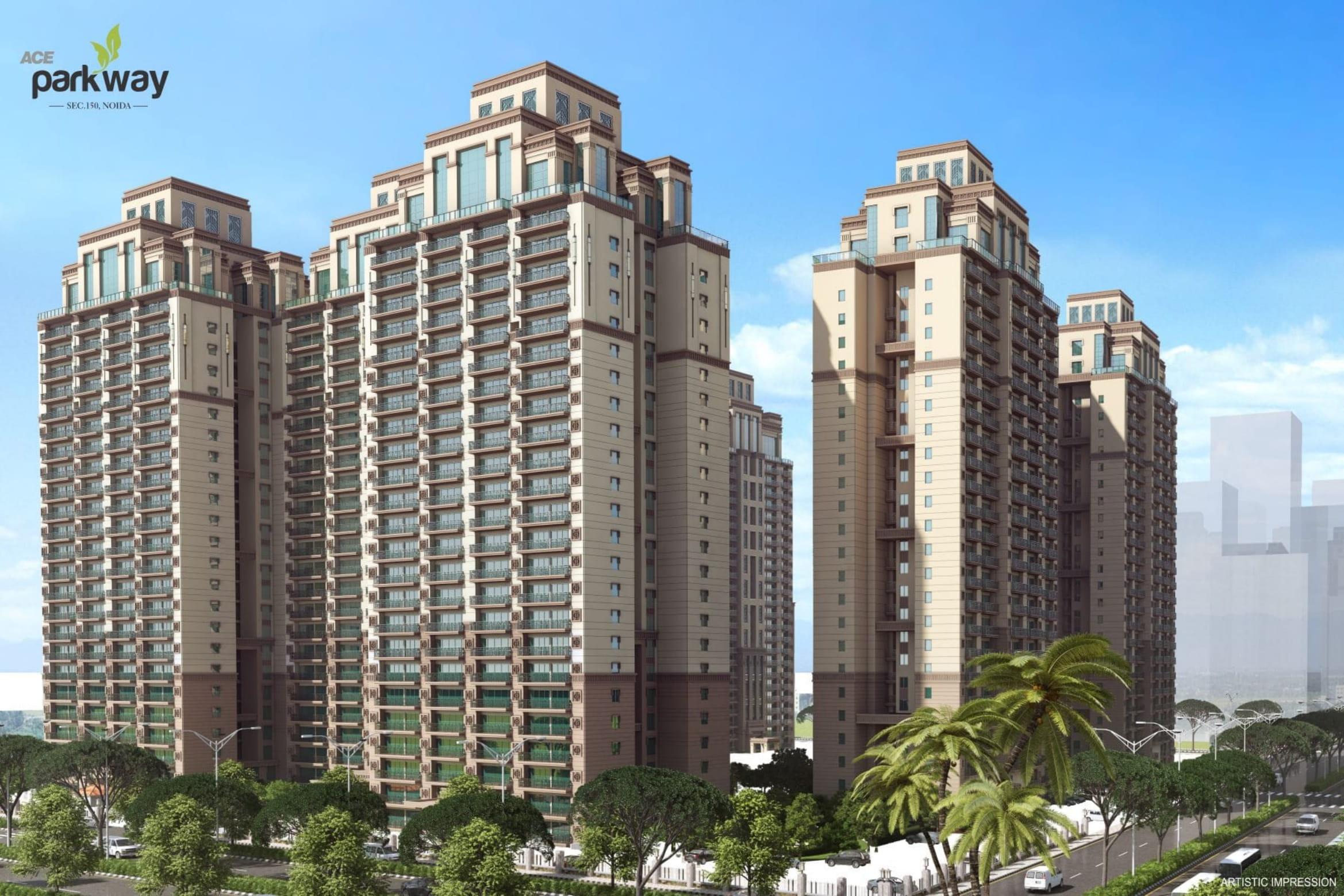 Ace Parkway 2/3BHK Luxury Flats in Sec-150 Noida