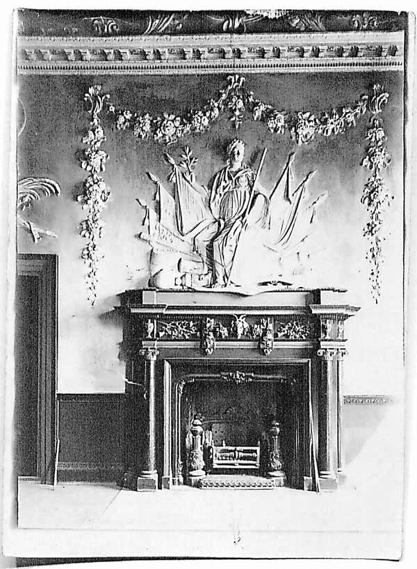 The Grand Salon Fire Place