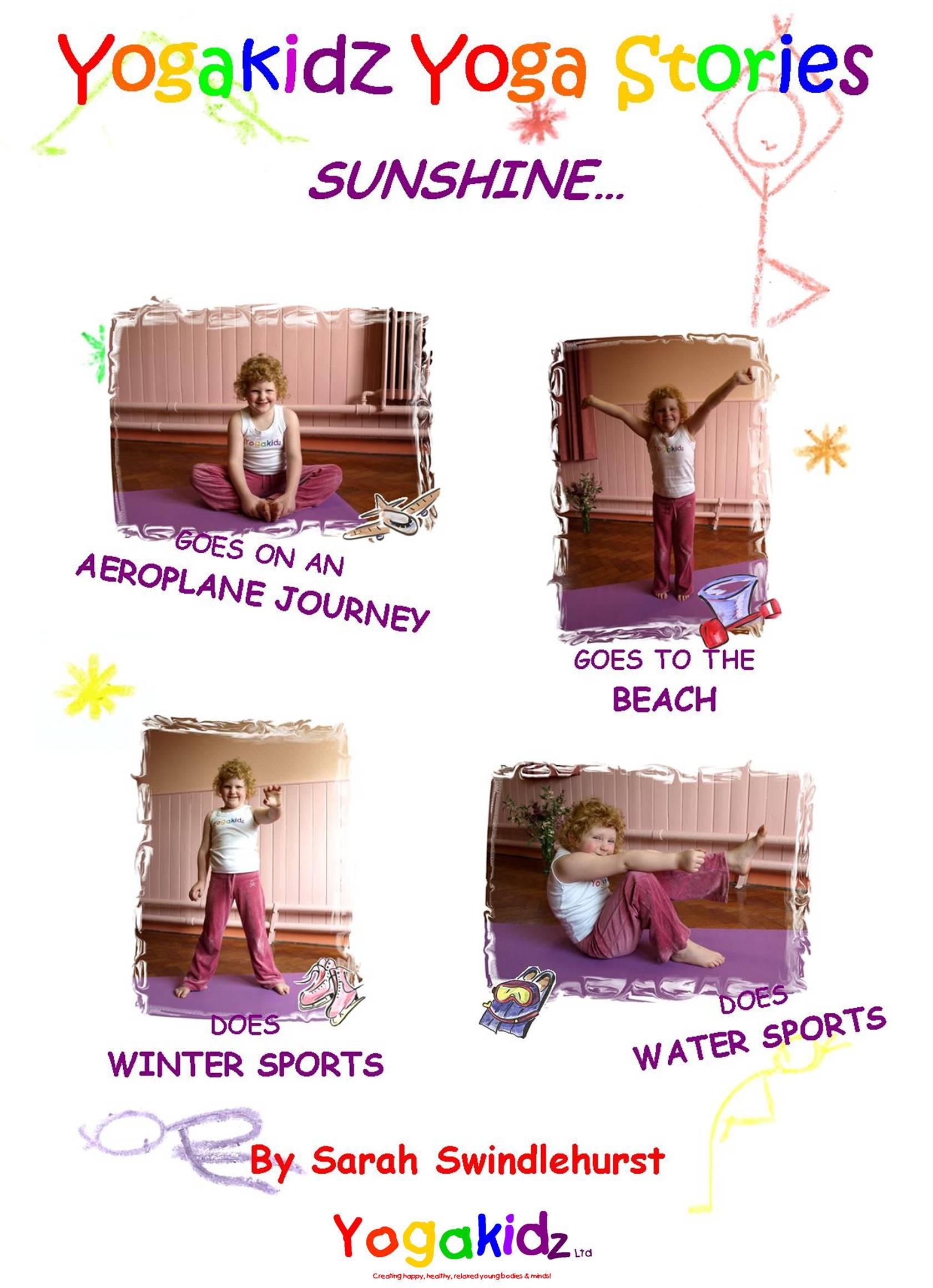 Sunshine....4 Yogakidz Yoga Stories - CD