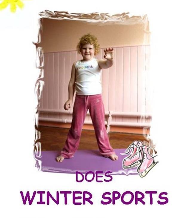 Sunshine...does Winter-sports - Yogakidz Yoga Stories - MP3