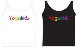 Yoga Kidz Vest Top White