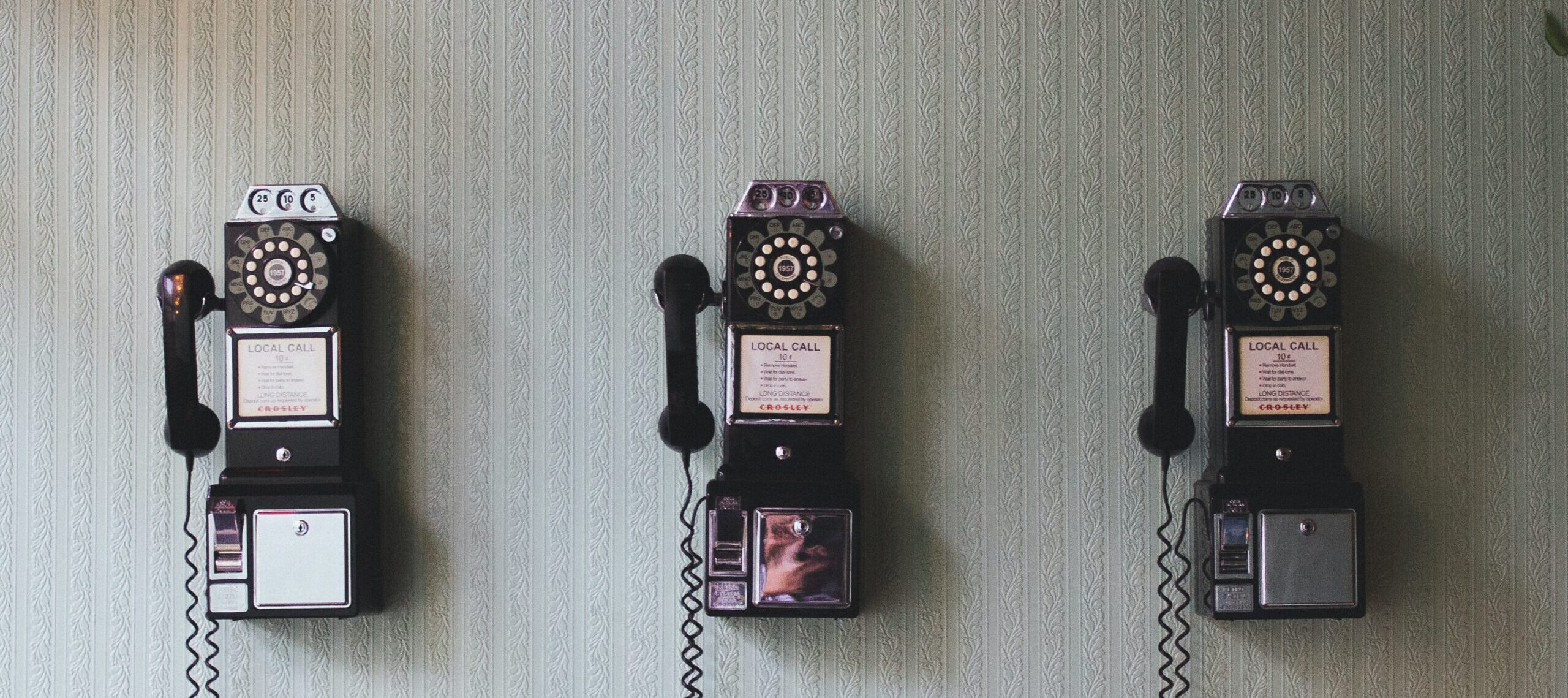 Vintage pay phone - Rachel Writes contact page