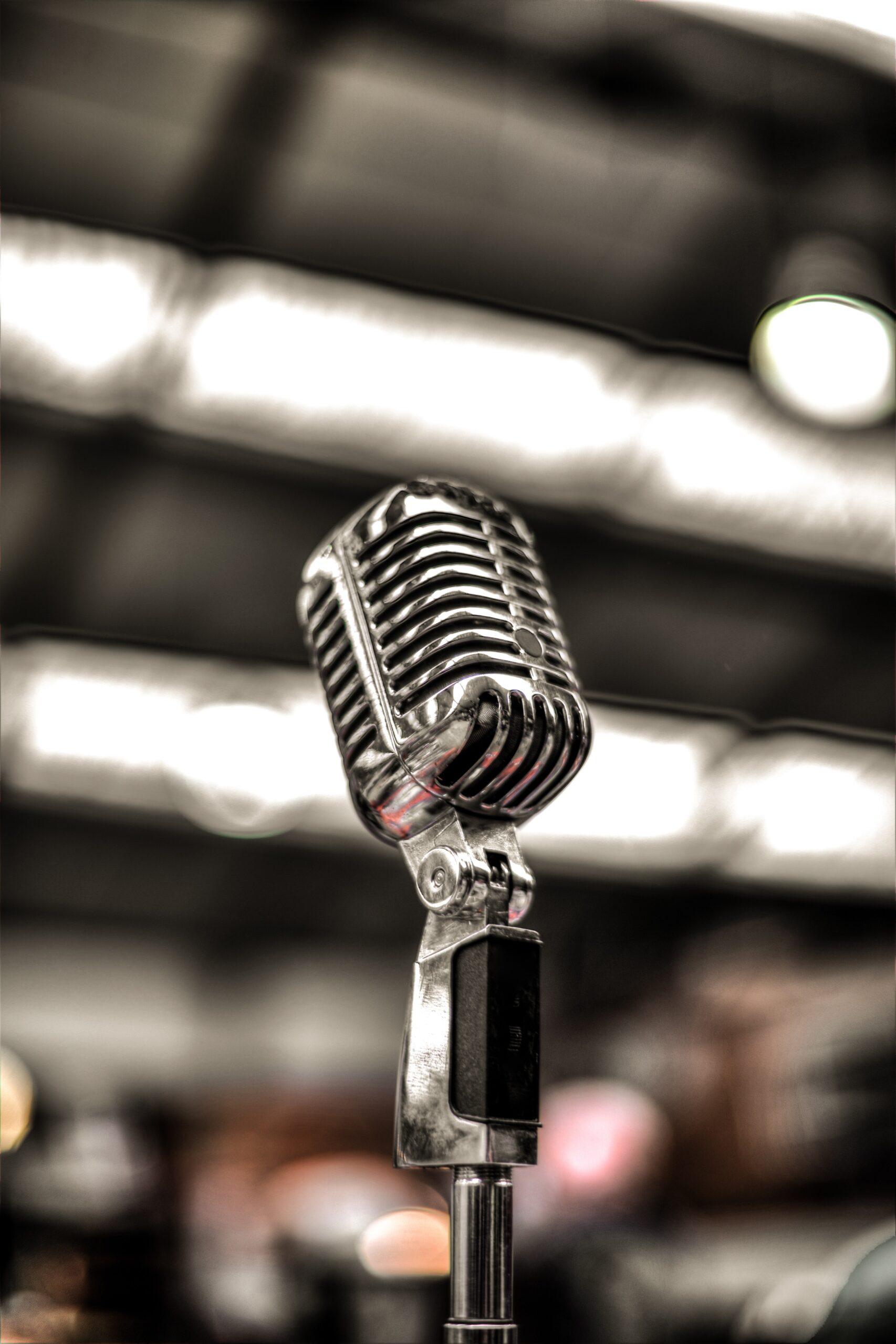 Microphone - Rachel Writes press release writing service
