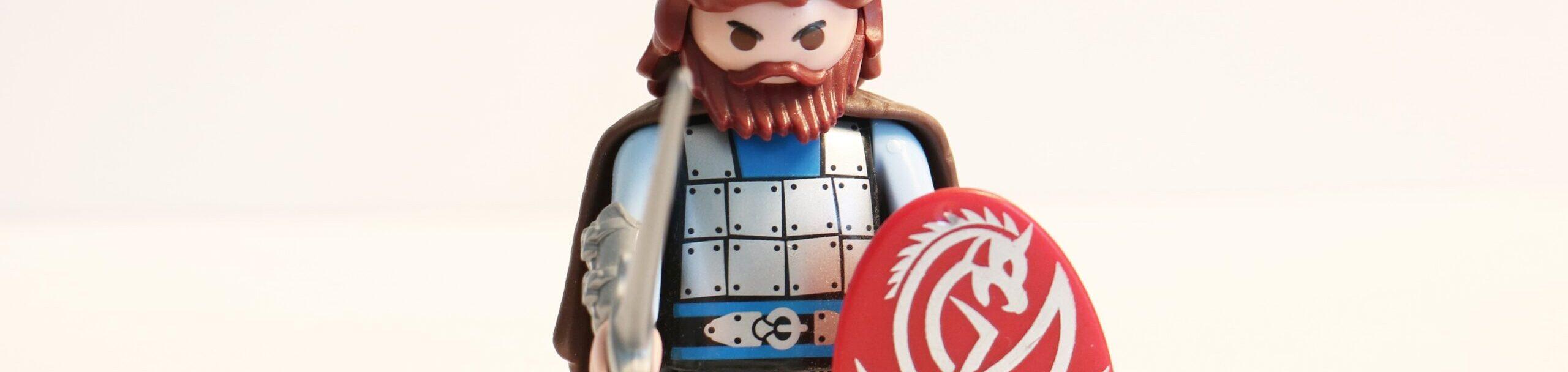 Lego knight - Rachel Writes blog 'Why should I use a freelance content writer or copywriter?'