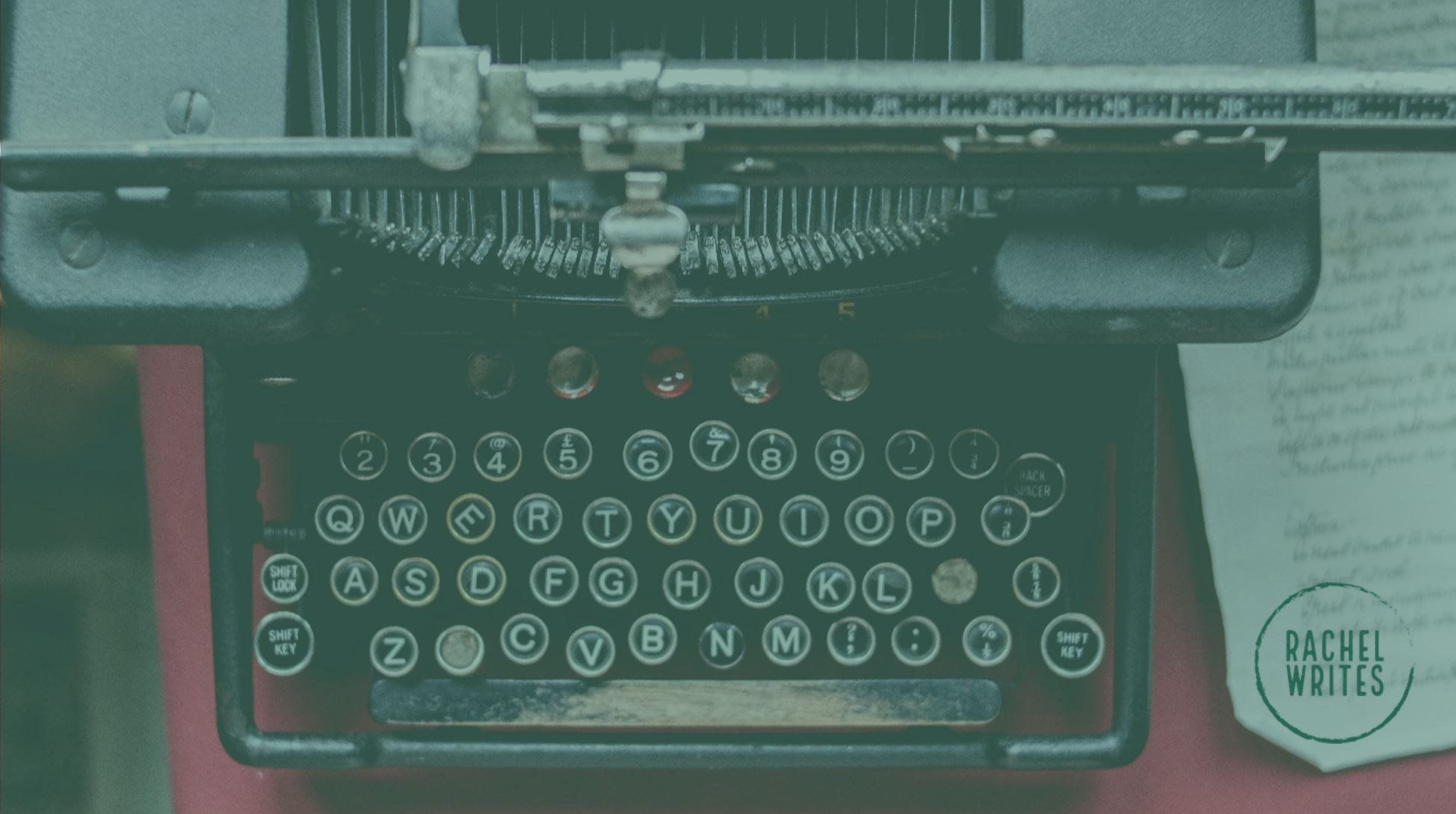 Rachel Writes content can image