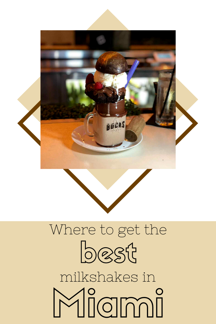 Rosie Andre - where to get the best milkshakes in Miami