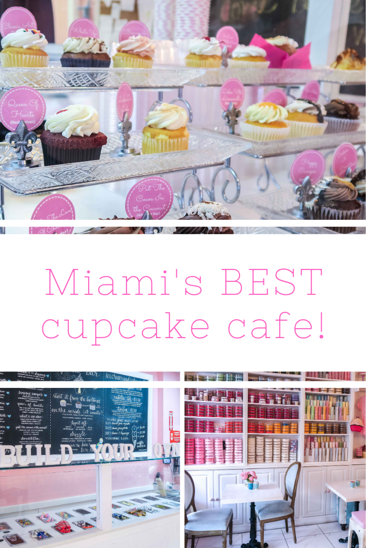 Rosie Andre - Miami's Best cupcake cafe