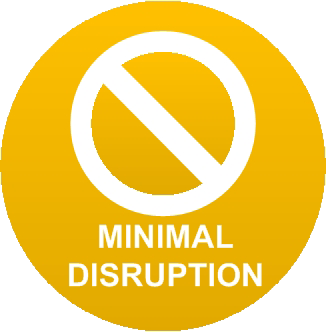 Minimal Disruption