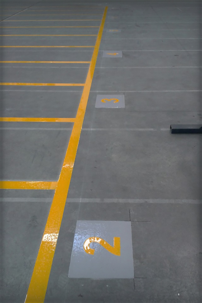 Storage Lane Floor Numbers