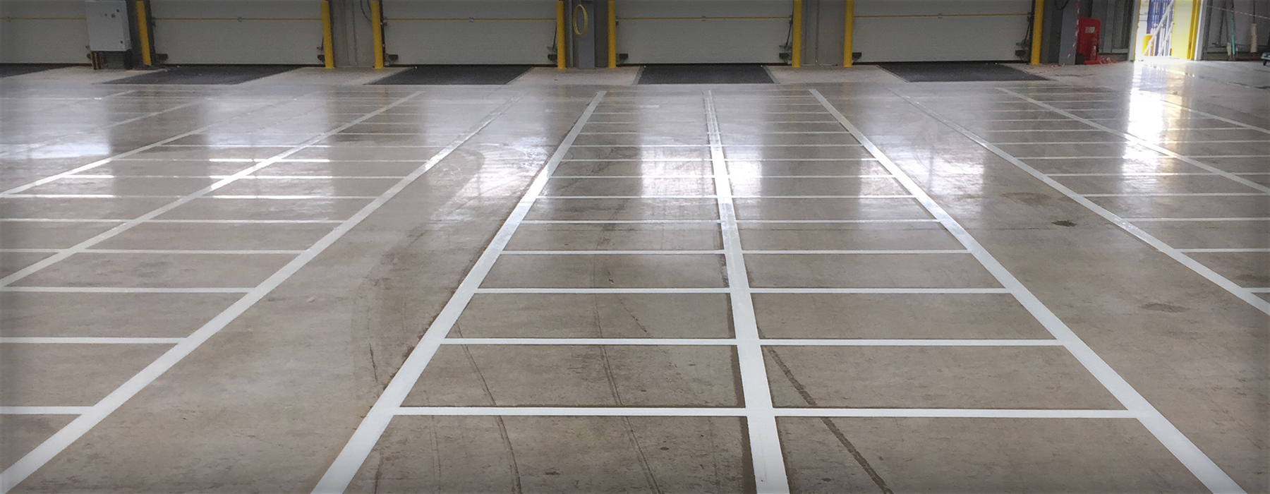 Unprepared Line Marking