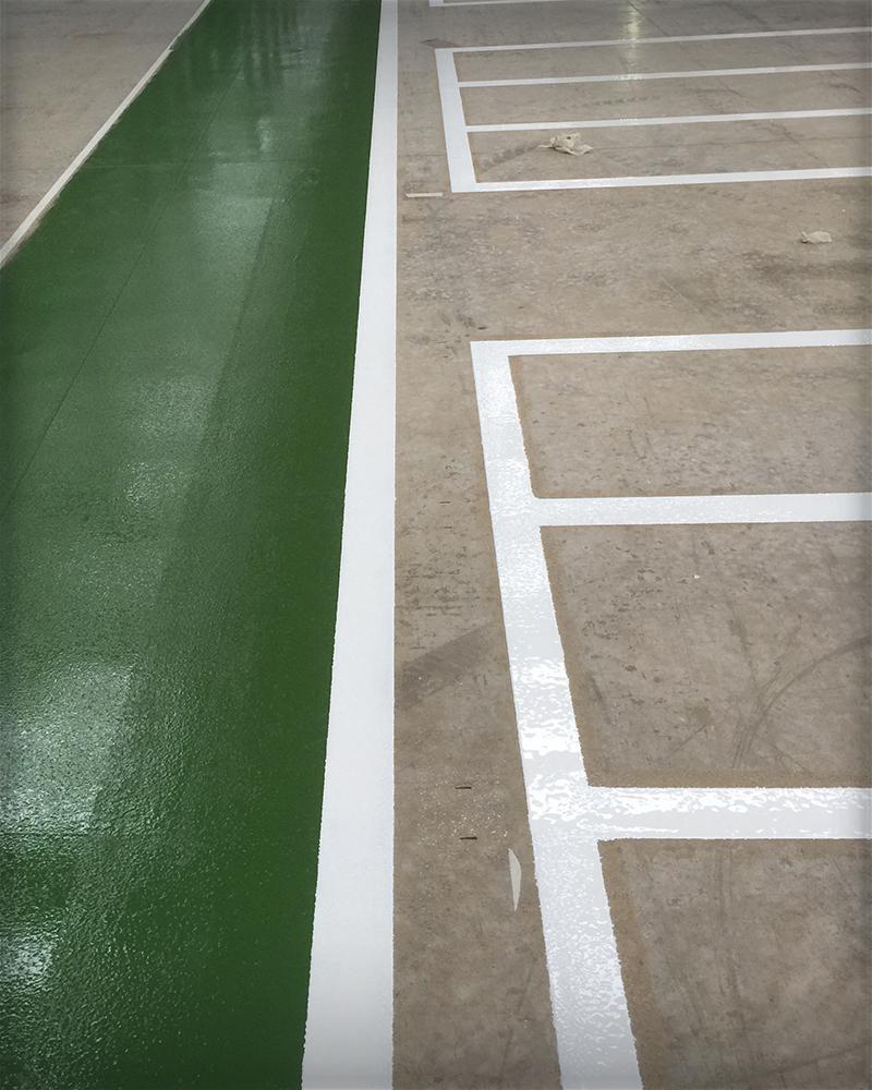 Walkway Line Marking