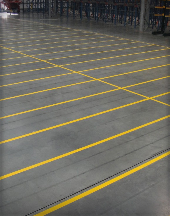 Warehouse Line Marking