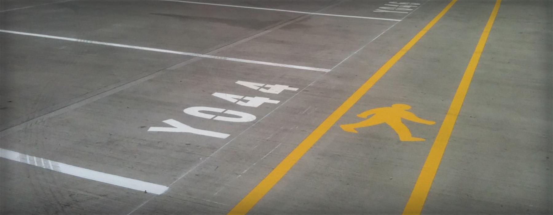 Warehouse Yard Marking