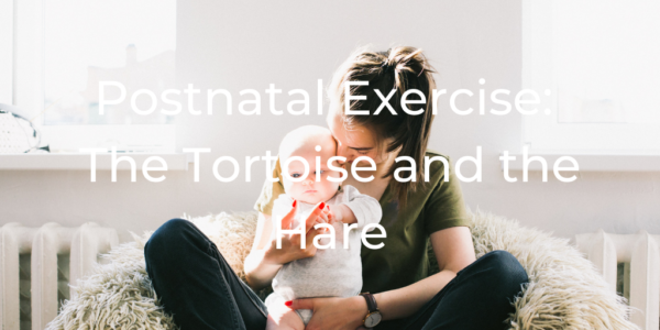 Postnatal Exercise: The Tortoise and the Hare