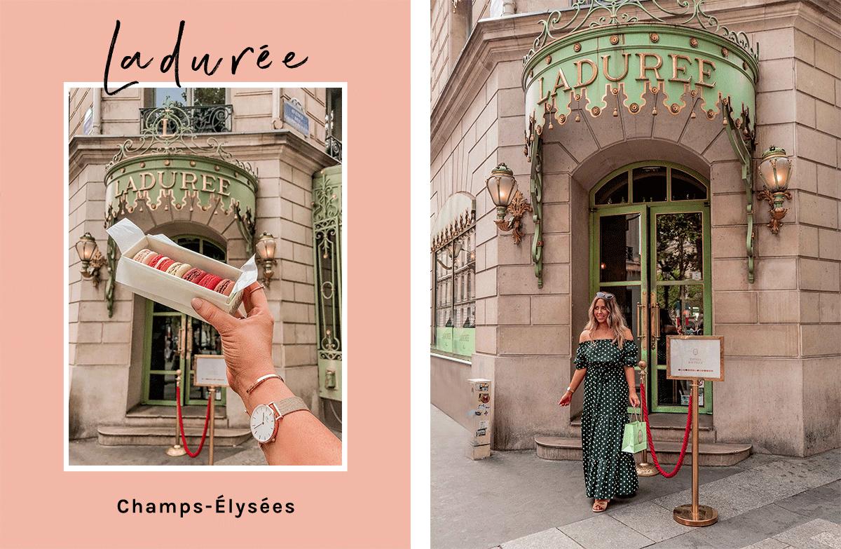 20-Best-Paris-Photography-Locations-Instagram-Spots-Pink-Mamma-@kelseyinlondon-Kelsey-Heinrichs--Ladurée-Paris-Champs-Elysées
