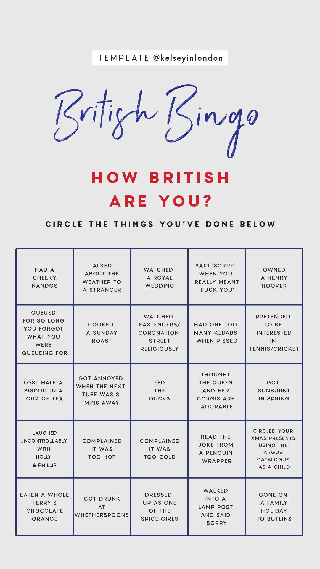 Top things to do in United Kingdom Bucket list Instagram Story Template kelseyinlondon Kelsey Heinrichs What to do in United Kingdom Where to go in United Kingdom top places in United Kingdom