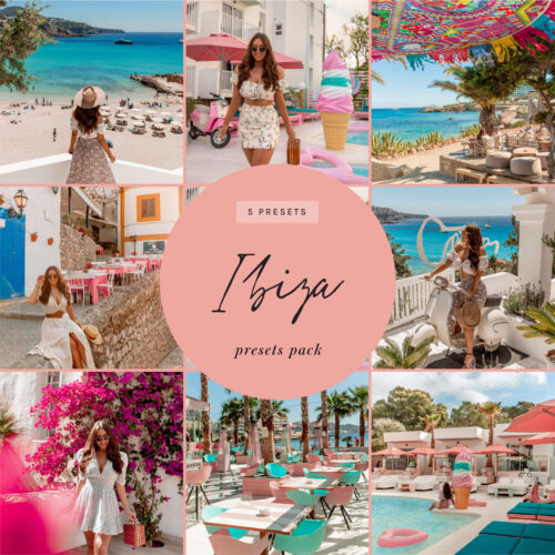 kelseyinlondon lightroom presets ibiza