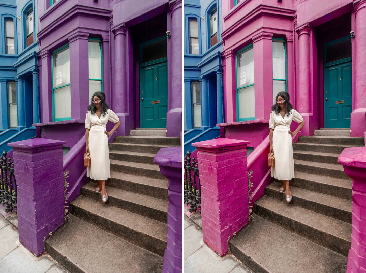 kelseyinlondon kelsey heinrichs london instagram spots notting hill guide adobe lancaster road